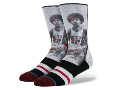 Brooklyn Nets Julius Erving Stance Ink Legend Player Socks