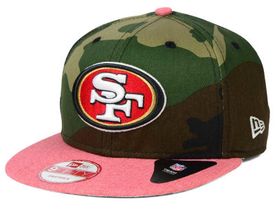 San Francisco 49ers New Era NFL Camo Heather 9FIFTY Snapback Cap