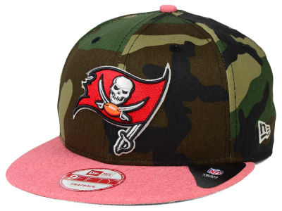 Tampa Bay Buccaneers New Era NFL Camo Heather 9FIFTY Snapback Cap