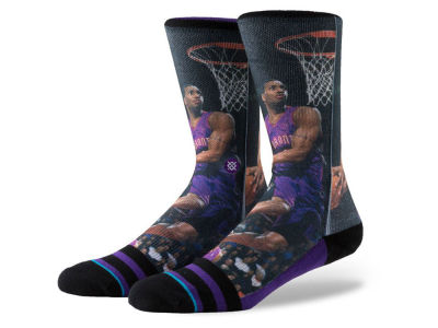Toronto Raptors Tracy McGrady Stance Legend Player Sock