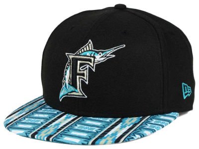 Florida Marlins New Era MLB A-Tech 9FIFTY Snapback Cap