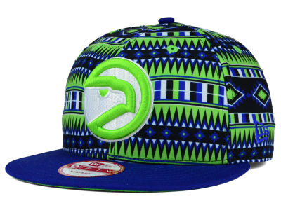 Atlanta Hawks New Era NBA HWC Tri-All Print 9FIFTY Snapback Cap