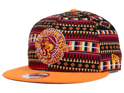 Cleveland Cavaliers New Era NBA HWC Tri-All Print 9FIFTY Snapback Cap