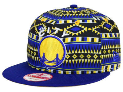 Golden State Warriors New Era NBA HWC Tri-All Print 9FIFTY Snapback Cap