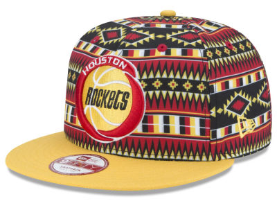 Houston Rockets New Era NBA HWC Tri-All Print 9FIFTY Snapback Cap