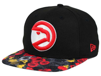 Atlanta Hawks New Era NBA HWC Floral Shadow 9FIFTY Snapback Cap
