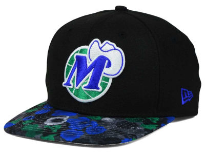 Dallas Mavericks New Era NBA HWC Floral Shadow 9FIFTY Snapback Cap