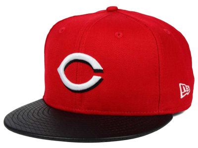 Cincinnati Reds New Era MLB All Field Perforated 59FIFTY Cap