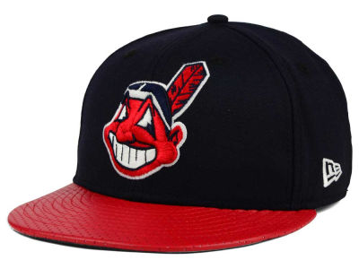 Cleveland Indians New Era MLB All Field Perforated 59FIFTY Cap
