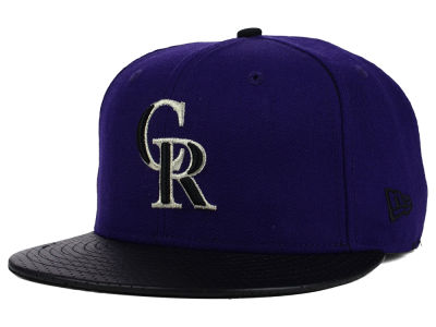 Colorado Rockies New Era MLB All Field Perforated 59FIFTY Cap