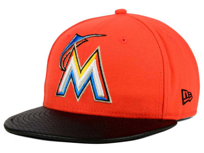 Miami Marlins New Era MLB All Field Perforated 59FIFTY Cap