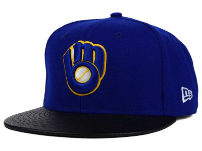 Milwaukee Brewers New Era MLB All Field Perforated 59FIFTY Cap