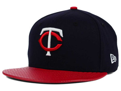 Minnesota Twins New Era MLB All Field Perforated 59FIFTY Cap
