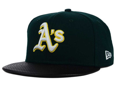 Oakland Athletics New Era MLB All Field Perforated 59FIFTY Cap