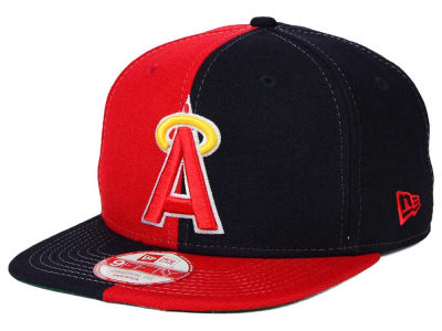 Los Angeles Angels New Era MLB Double Splitem 9FIFTY Snapback Cap