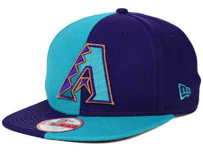 Arizona Diamondbacks New Era MLB Double Splitem 9FIFTY Snapback Cap