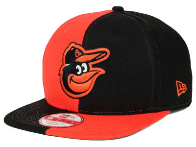 Baltimore Orioles New Era MLB Double Splitem 9FIFTY Snapback Cap