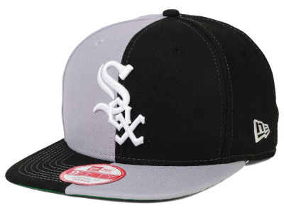 Chicago White Sox New Era MLB Double Splitem 9FIFTY Snapback Cap