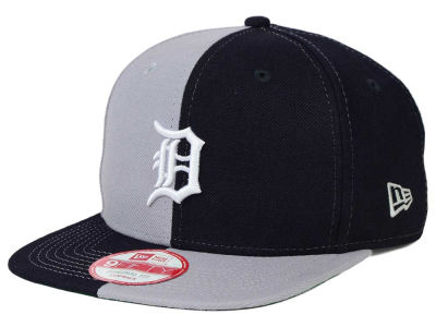 Detroit Tigers New Era MLB Double Splitem 9FIFTY Snapback Cap