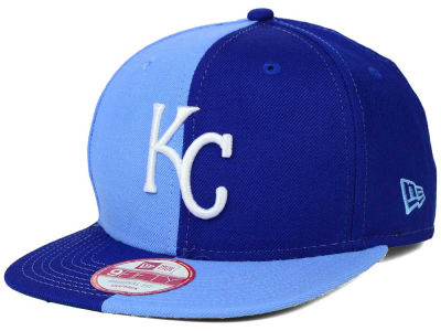 Kansas City Royals New Era MLB Double Splitem 9FIFTY Snapback Cap