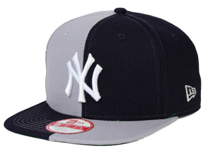 New York Yankees New Era MLB Double Splitem 9FIFTY Snapback Cap