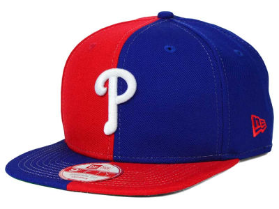 Philadelphia Phillies New Era MLB Double Splitem 9FIFTY Snapback Cap