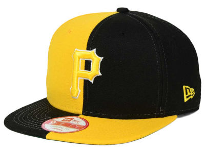 Pittsburgh Pirates New Era MLB Double Splitem 9FIFTY Snapback Cap