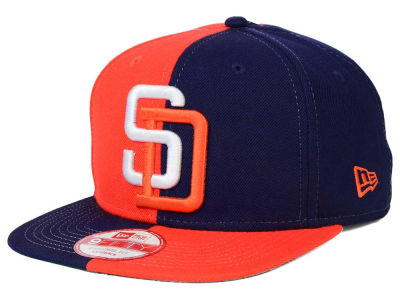 San Diego Padres New Era MLB Double Splitem 9FIFTY Snapback Cap