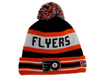Philadelphia Flyers New Era NHL Team Color Jake Pom Knit
