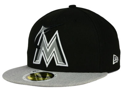 Miami Marlins New Era MLB Night Reflective 59FIFTY Cap