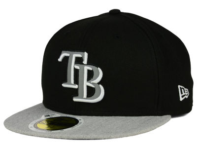 Tampa Bay Rays New Era MLB Night Reflective 59FIFTY Cap