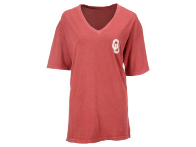 Oklahoma Sooners NCAA Women's Spirit V-Neck T-Shirt