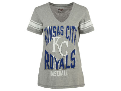 Kansas City Royals G-III Sports MLB Women's Home Plate Foil T-Shirt