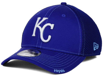 Kansas City Royals New Era MLB 2015 Team Color Neo 39THIRTY Cap