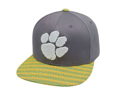 Clemson Tigers Top of the World NCAA 2 Fly Snapback Cap