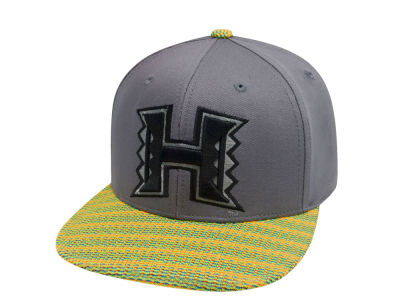 Hawaii Warriors Top of the World NCAA 2 Fly Snapback Cap