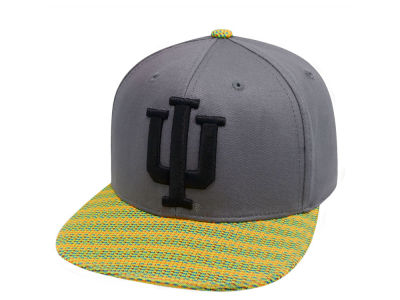Indiana Hoosiers Top of the World NCAA 2 Fly Snapback Cap