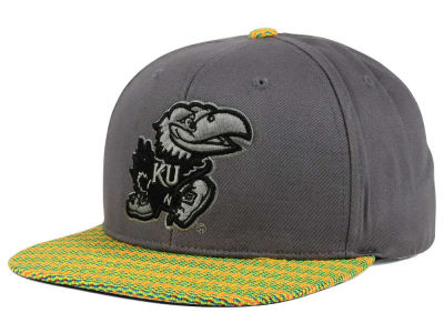 Kansas Jayhawks Top of the World NCAA 2 Fly Snapback Cap