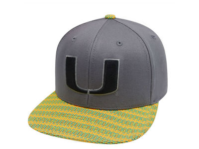 Miami Hurricanes Top of the World NCAA 2 Fly Snapback Cap