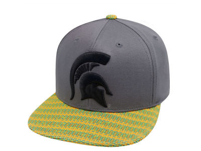 Michigan State Spartans Top of the World NCAA 2 Fly Snapback Cap