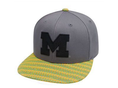 Michigan Wolverines Top of the World NCAA 2 Fly Snapback Cap