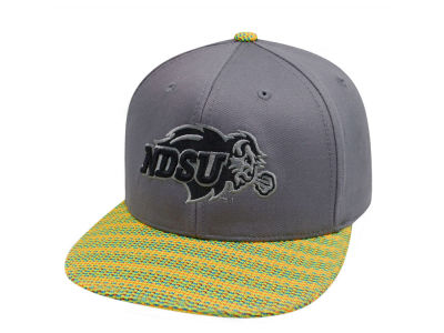 North Dakota State Bison Top of the World NCAA 2 Fly Snapback Cap