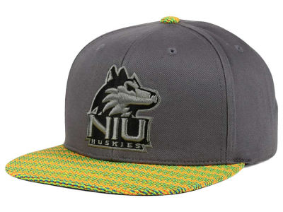 Northern Illinois Huskies Top of the World NCAA 2 Fly Snapback Cap