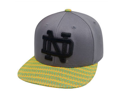 Notre Dame Fighting Irish Top of the World NCAA 2 Fly Snapback Cap