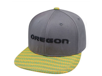 Oregon Ducks Top of the World NCAA 2 Fly Snapback Cap