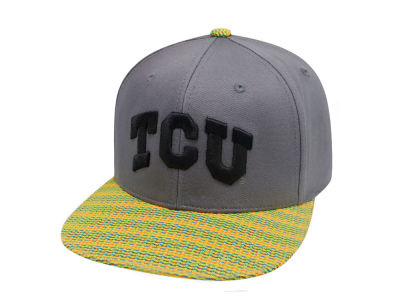 Texas Christian Horned Frogs Top of the World NCAA 2 Fly Snapback Cap