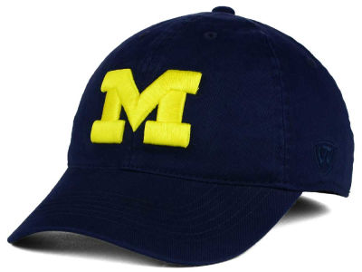 Michigan Wolverines Top of the World NCAA Relaxer 2.0 Stretch Hat