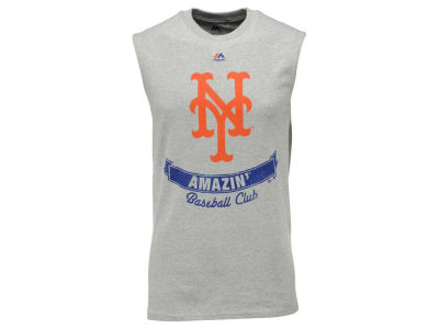 New York Mets Majestic MLB Men's Legendary Sleeveless T-Shirt
