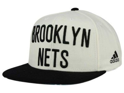 Brooklyn Nets adidas NBA 2015-2016 Courtside Cap