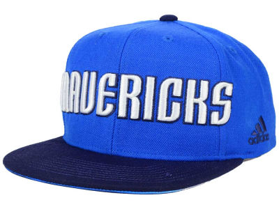 Dallas Mavericks adidas NBA 2015-2016 Courtside Cap